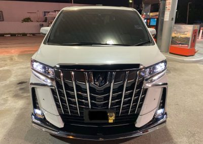 Rent a Toyota Alphard Near Me