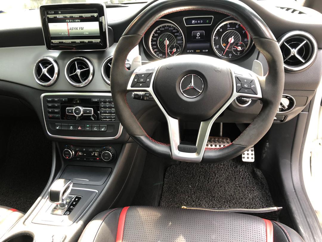 Rent Mercedes CLA 45 in KL