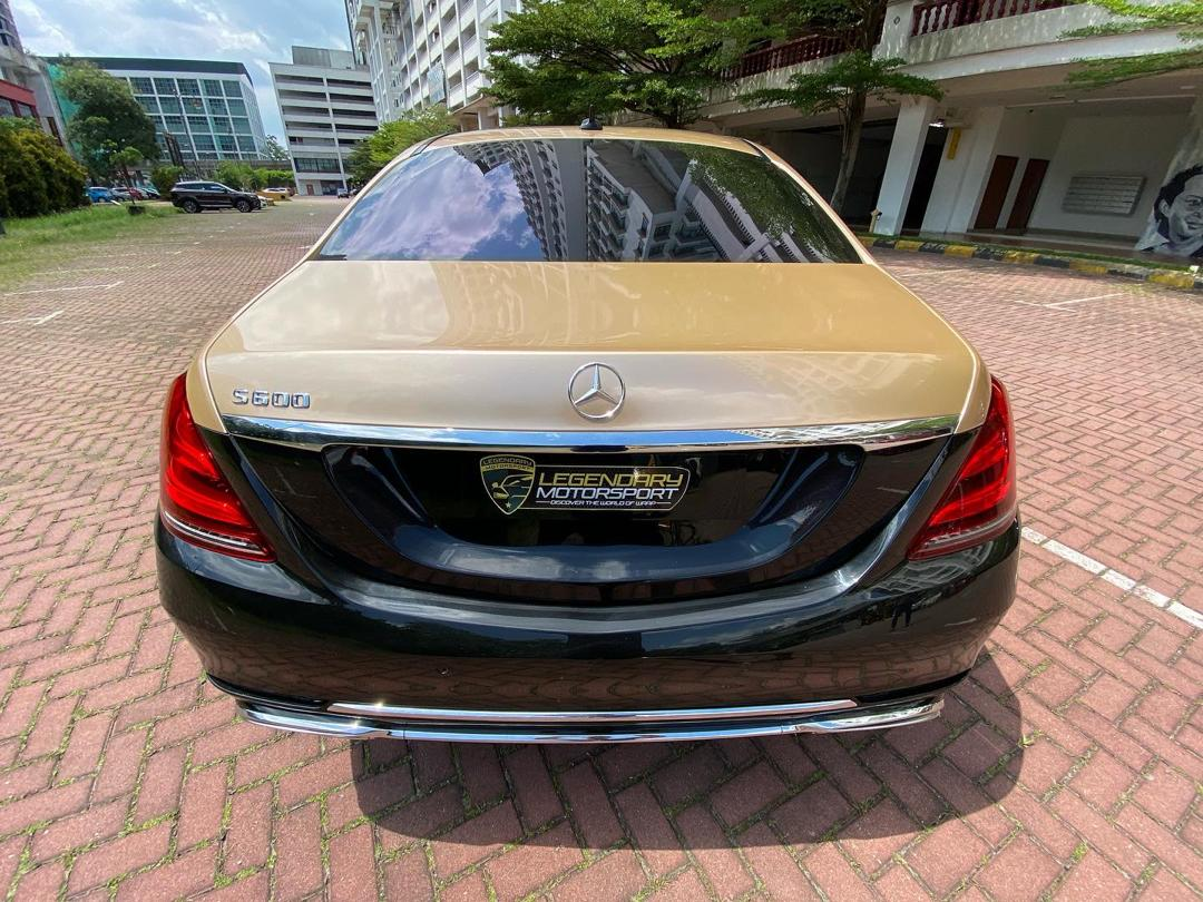 Rent Mercedes S 560 in KL