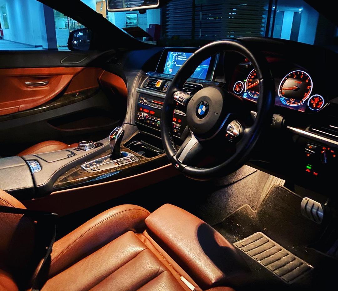 Rent BMW 640