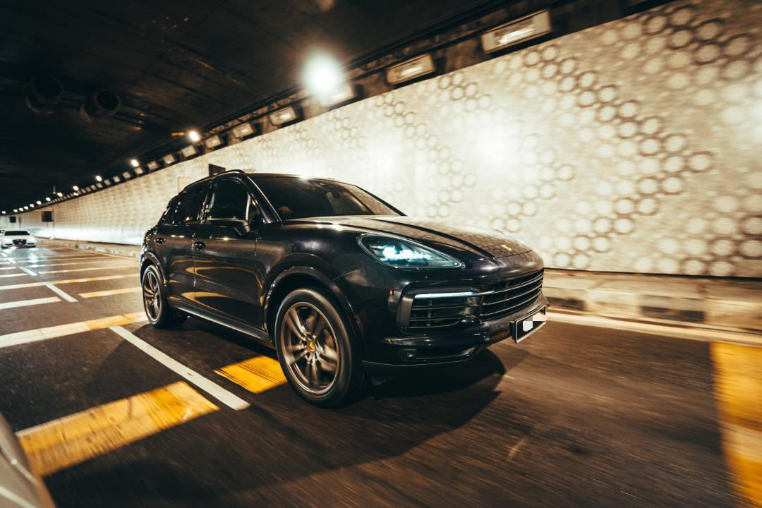 porsche cayenne available to rent in melaka