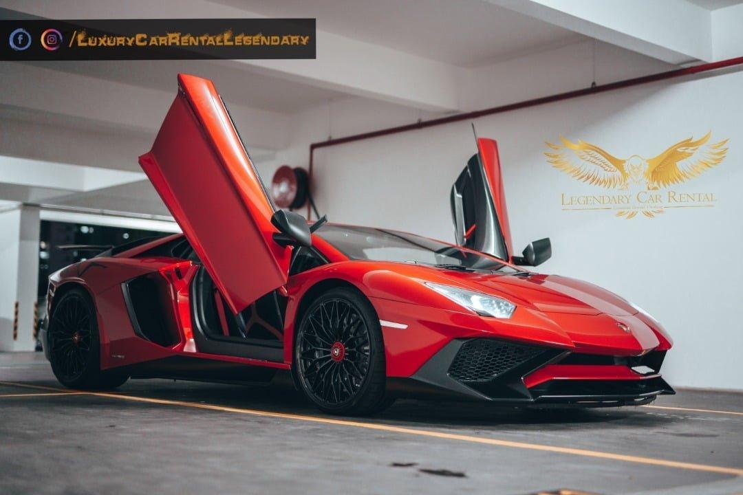 Rent Lamborghini Avntador SV SVJ in Kuala Lumpur Malaysia