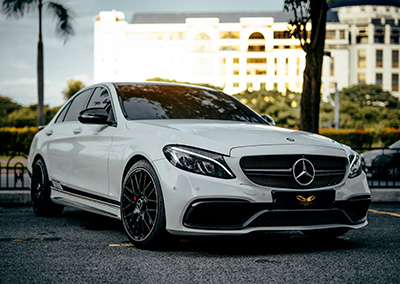 Mercedes C250 convert C63 kit